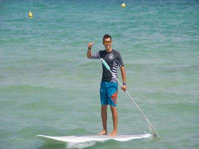 Alquiler de material paddle surf en Muro 1 hora