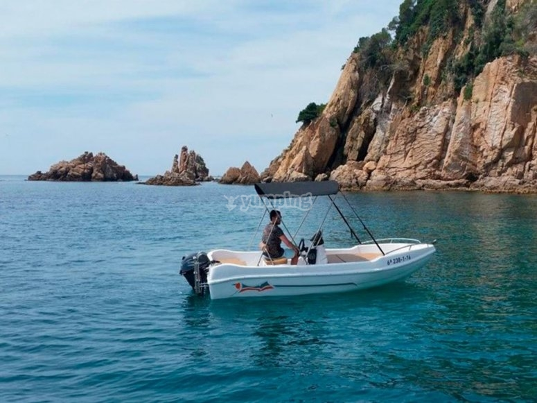 Boat for rental in Alicante