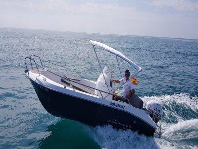 Barca senza titolo a noleggio Alicante tutto il giorno