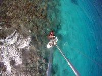 Vista aerea del kiter