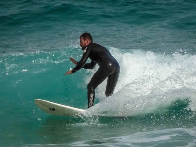 Surf equipment rental in Muro 1 hour