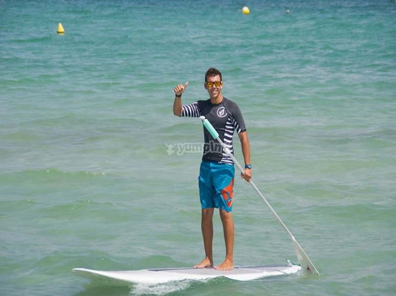 Paddle surf a Muro
