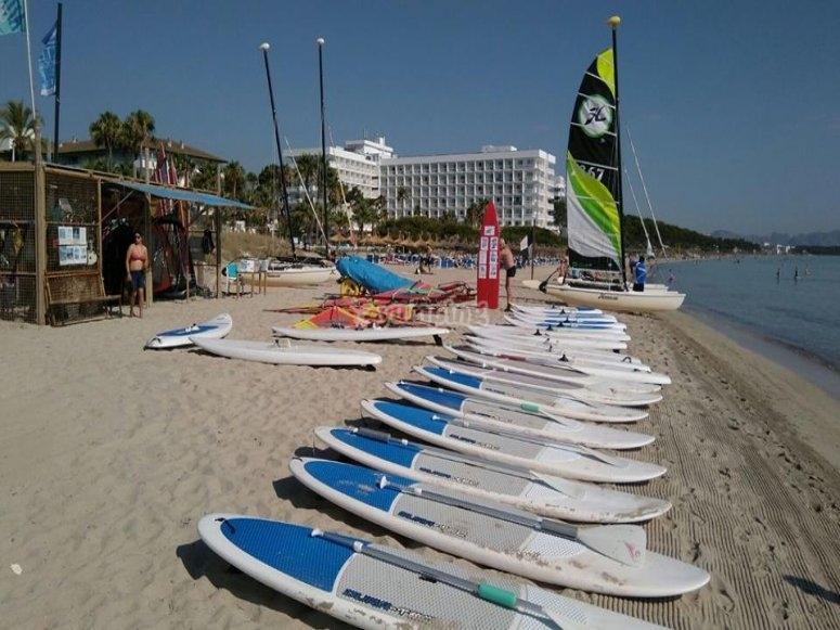 Tablas de paddle surf en alquiler