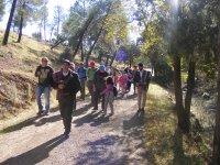 Dramatized hiking route Los Bandoleros
