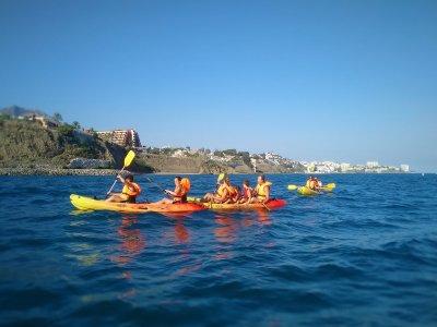 Benalmádena的双人皮划艇租赁服务1小时