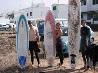 Escuelas de surf en Lanzarote