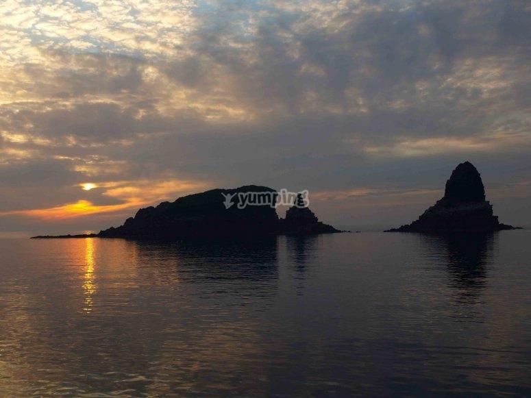 Ruta en barco por Islas Columbretes