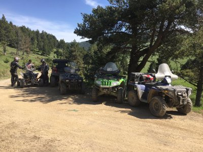 Two-Seater Quad Tour Through Grandvalira, 1h
