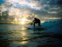 Surfeando en Lanzarote