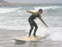 Iniciación al surf en Lanzarote