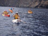 溪撒上赛艇皮划艇划桨特拉韦西亚移动