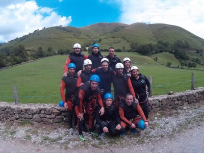 Canyoning for beginners Valles Pasiegos, 2h30min