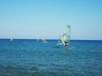 Curso individual de windsurf en Valencia 10h