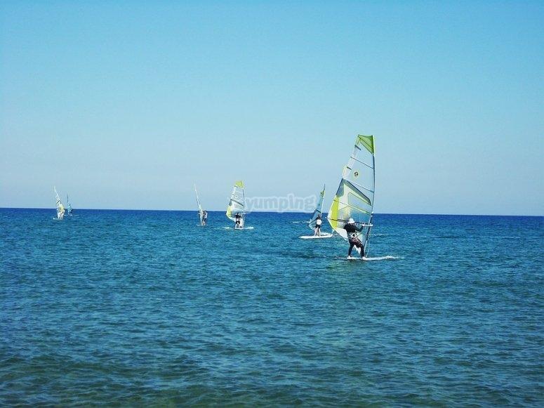Windsurf en Valencia