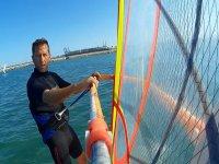 Clase privada de windsurf en Valencia 2 horas