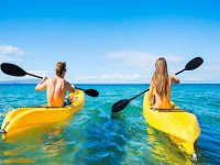 Jornada de kayak en el mar