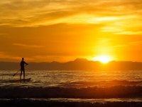 Paddle Surf y el Atardecer