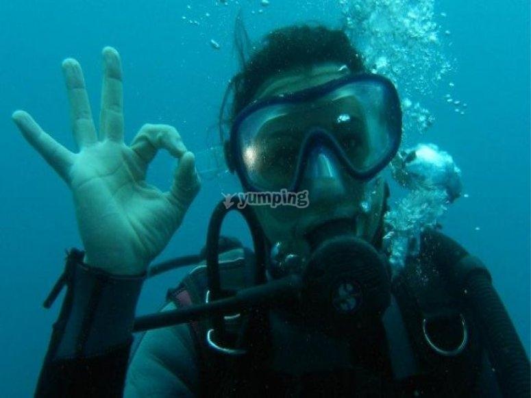 Saludo marino