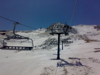 The chair lifts