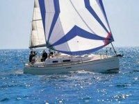 travesia en un velero