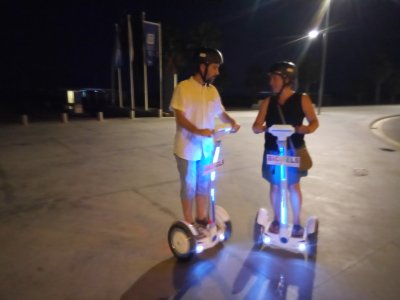 Tour notturno in segway a Castelldefels 1h 30min