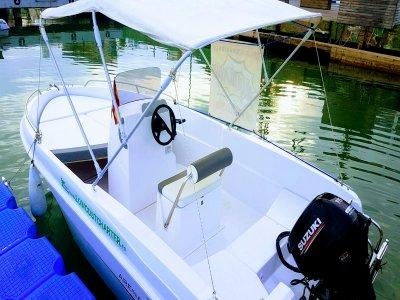 2h Rent a Boat w/o License Pobla de Farnals