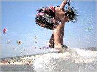 Cogiendo una ola