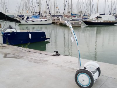 Tour in segway e paddle a Castelldefels 2h.30
