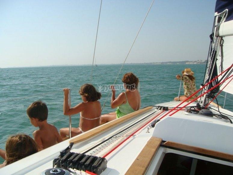 Vistas del velero