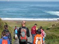 到海滩远足以了解有关海洋环境的更多信息