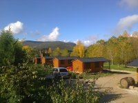Las instalaciones del campamento
