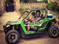 Two-person dune buggy tour of Salou, 2hrs