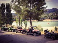 Tour in Salou in two seat quad