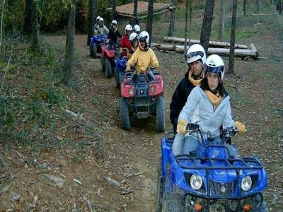 Quad ride in Sant Miquel de Campmajor for 1 h