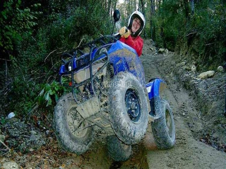 Watch out for the quad bikes!