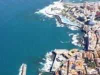 Las costas de Tenerife desde el aire