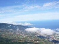 Sobrevolando la isla de Tenerife