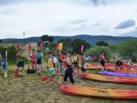Kayaks in Lozoya