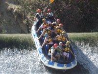 Descenso en Rafting en el río Segura + Pícnic