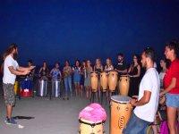 Percusion al aire libre