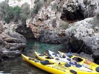 Vuelta a Menorca en kayak