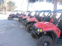 Buggys rojos en Almería