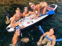 Paddle surf y snorkel en la costa gerundense