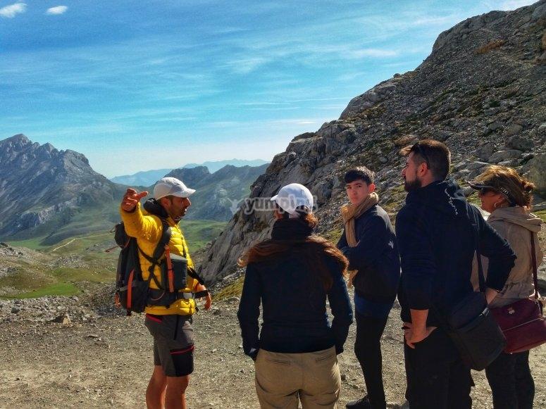 Paseo guiado en Picos de Europa