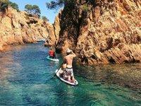 Ruta de paddle surf por calas