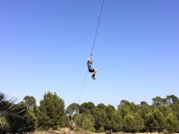 Zip-lines park at Mallorca for adults