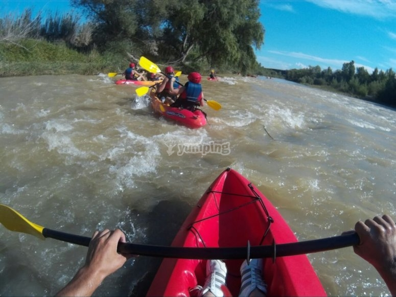 Descent of the Cinca River