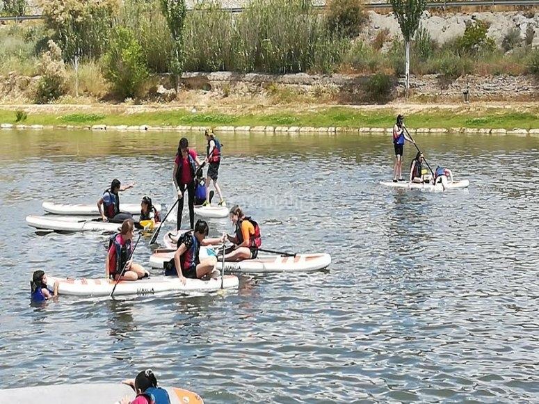 Paddle surf para grupos en Huesca