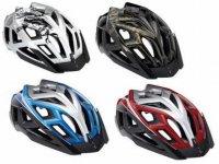 cuatro cascos de bicicleta