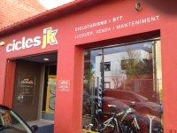 exterior de la tienda cicles jk